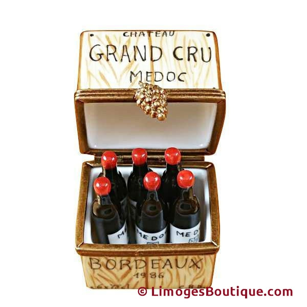 CRATE W/6 BOTTLES-Limoges Imports Limoges Boxes-Limoges Imports spirits-Limoges Box Boutique