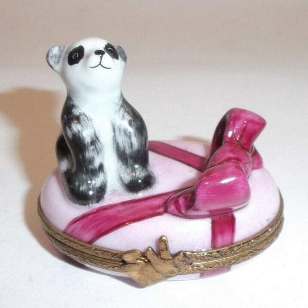 It's a Baby Girl - Maternity Bear Limoges Box - - La Gloriette