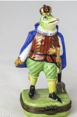 King Frog - RARE RETIRED - 3 Extra Days to Ship