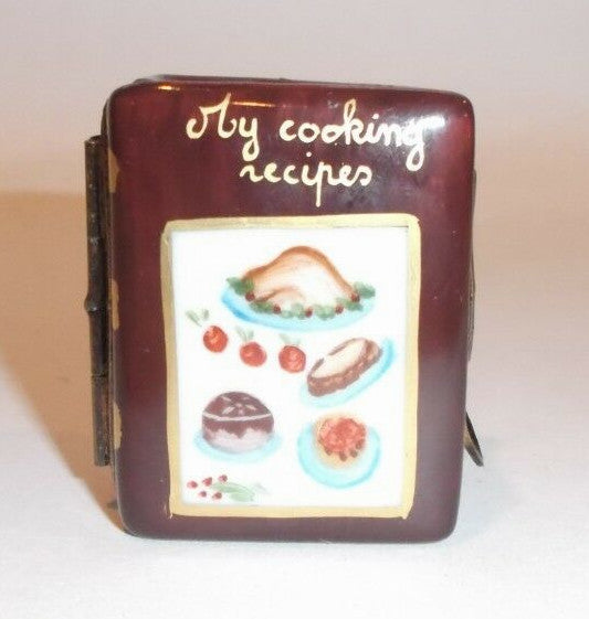 Cooking Recipes Cookbook Pan Limoges Box