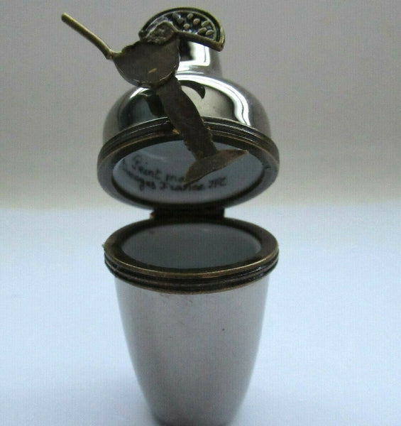 Coctail Shaker Silver Limoges Box - 3 day wait to ship this