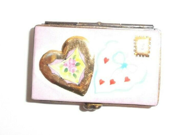 Love Letter I Love You Limoges Box - 3 Day Wait to Ship This One