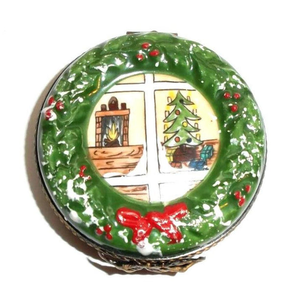 Christmas Wreath Limoges Box