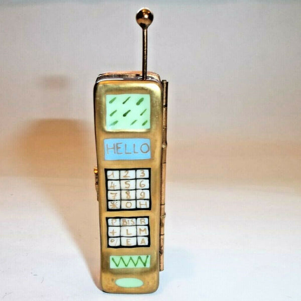 Old Fahioned Cell Phone Limoges Box Rare - This will take 3 xtra Days to Ship