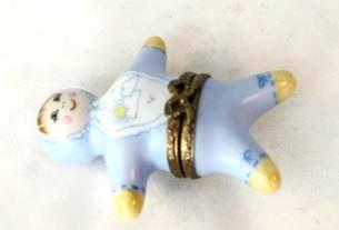 Baby Boy figurine - VERY RARE RETIRED - 3 Extra Days to Ship