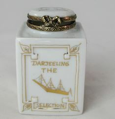 Darjeeling Tea Can - EXTREMELY RARE RETIRED - 3 Extra Days to Ship
