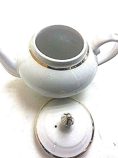 "ALPICO LIMOGES CHAMART FRANCE SMALL TEAPOT 6"" HEIGHT  - Chamart - Limoges Box"