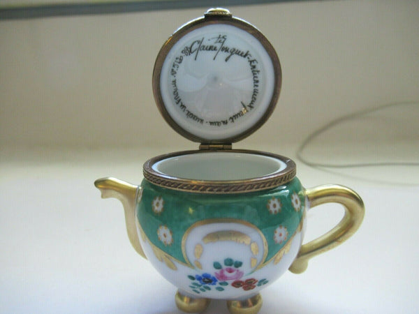 Teapot Green - This will take 3 xtra Days to Ship