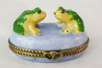 Two Frogs - RARE RETIRED - 3 Extra Days to Ship