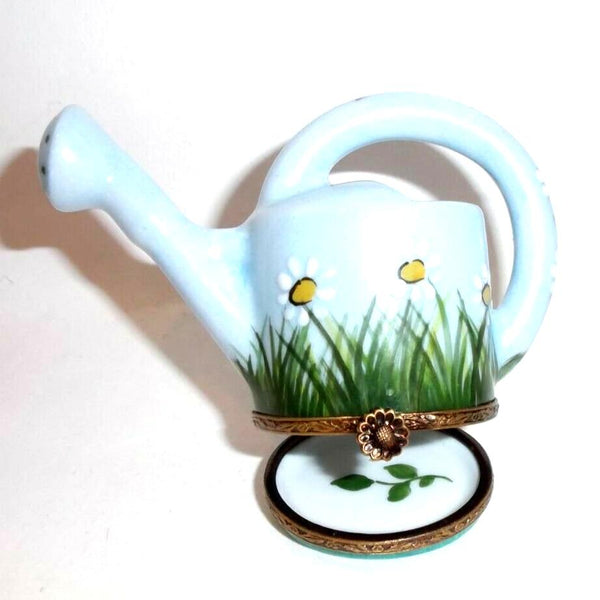 Watering Can w Daisys Daiseys Daisy Limoges Box