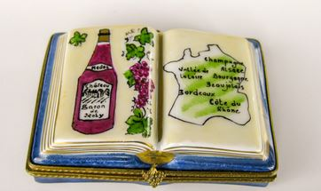 Wine Book France - EXTREMELy RARE and RETIRED - 3 Extra Days to Ship