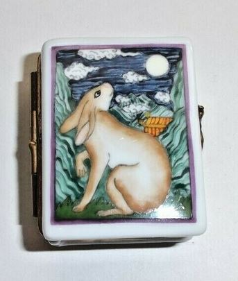 Year of the Rabbit Book Chinese Astrology Limoges Box