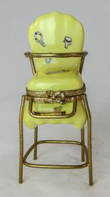 Yellow Baby High Chair - RARE RETIRED - 3 Extra Days to Ship
