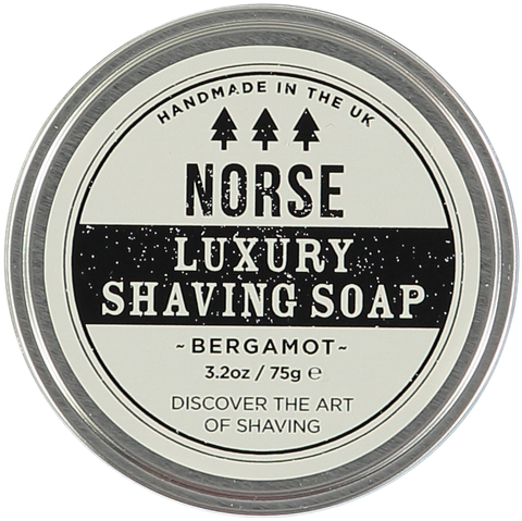 Luxury Bergamot Shaving Soap