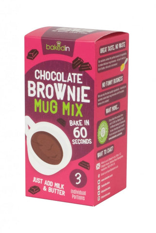 Belgian Chocolate Mug Brownie Mix