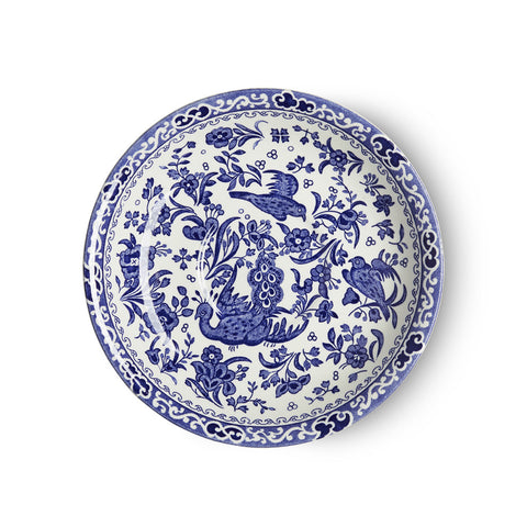 Blue Regal Peacock Breakfast Saucer