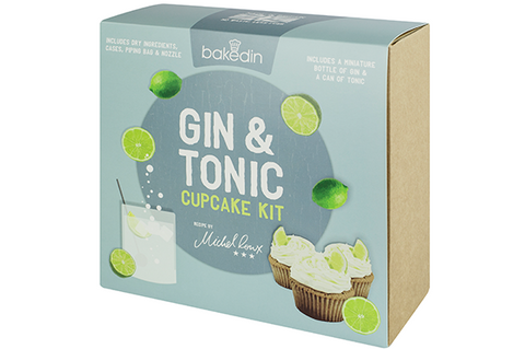 Gin & Tonic Cupcake Kit