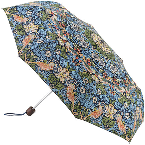 Lightweight Folding Umbrella - Strawberry Thief