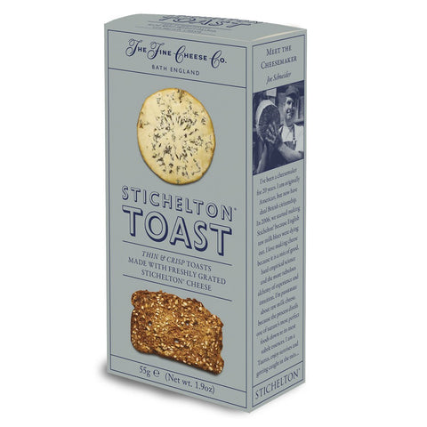 Toast for Cheese - Stichelton blue cheese