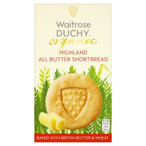 Organic Highland All Butter Shortbread