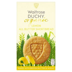 Organic Sicilian Lemon All Butter Shortbread