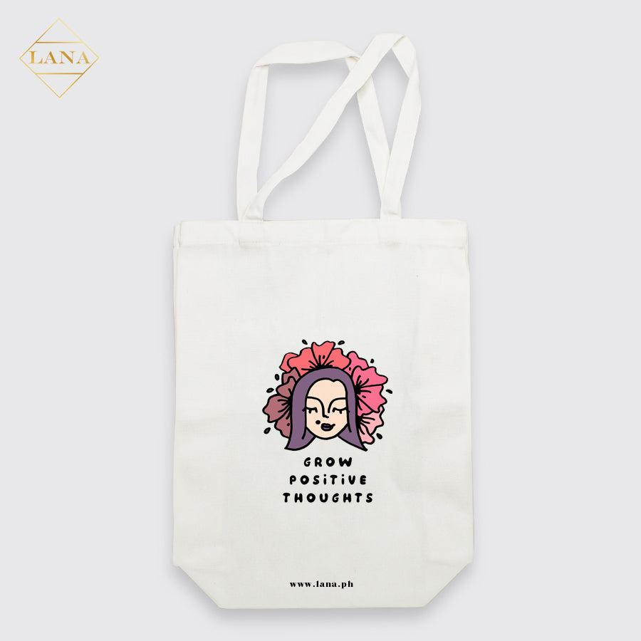 Grow Positive Thoughts Tote Bag
