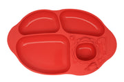 marcus marcus suction divided plate red oma care