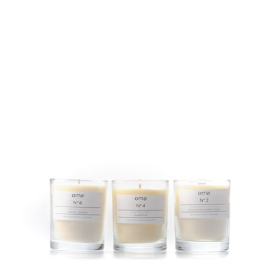 Bundle of three: N°2, N°4 & N°6 - Soy Candles, 3 x 190g