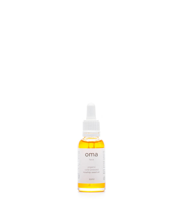 Organic Cold-Pressed Rosehip Seed Oil (Face Serum), 30ml