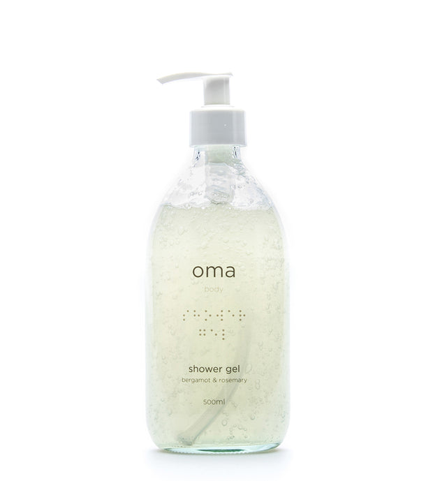 Shower Gel Bergamot & Rosemary, 500ml