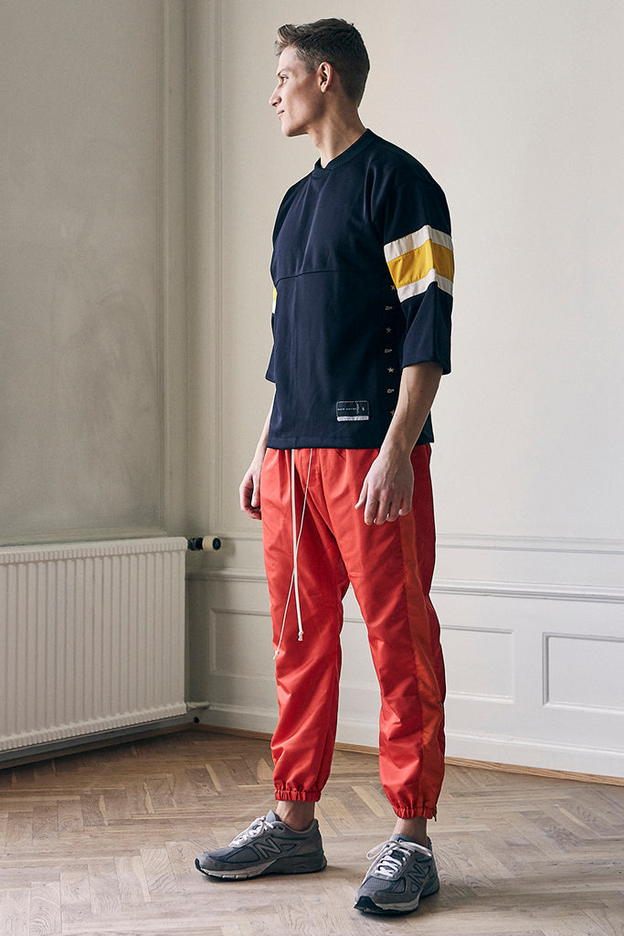 Parachute red/orange track pants