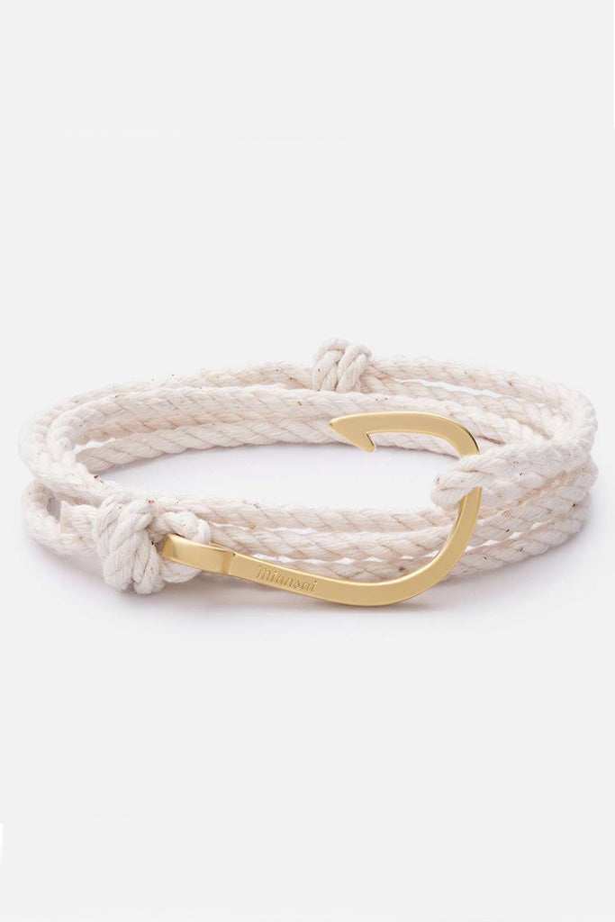 Hook Rope, White bracelet