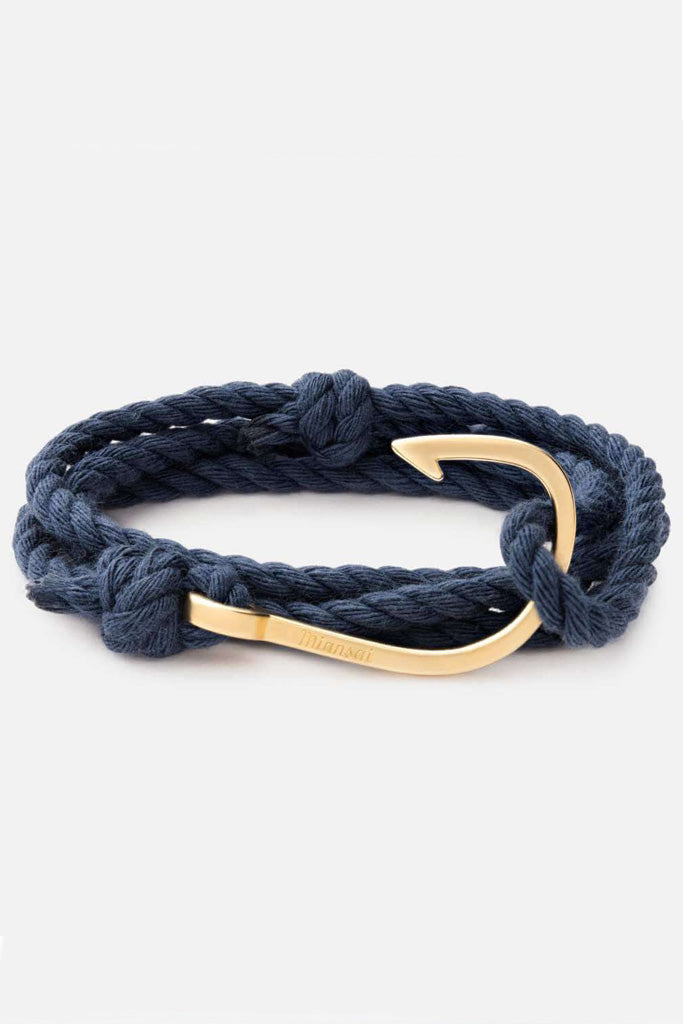 Hook Rope, Navy bracelet