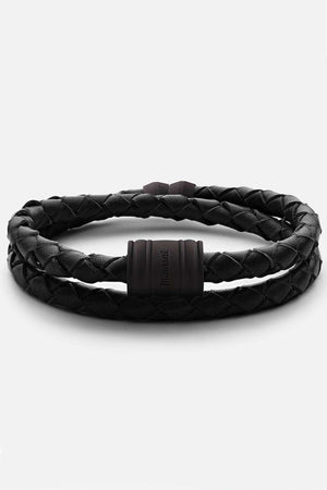 Black Leather Casing, bracelet