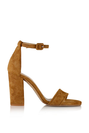 Akira heels with removable ankle ties