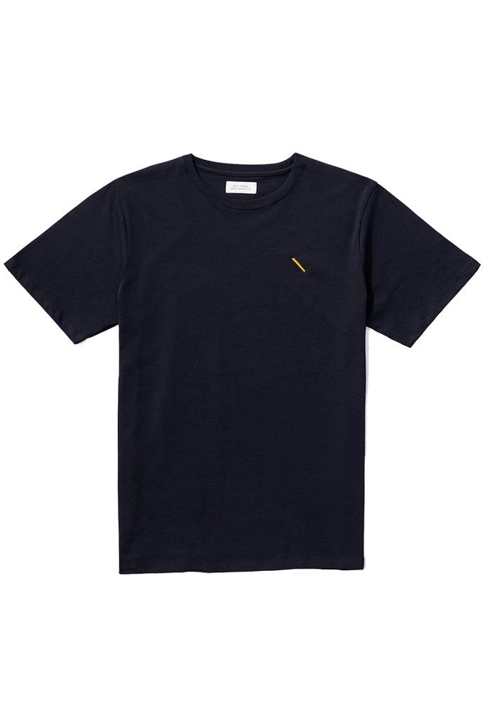 Navy slash T‑Shirt