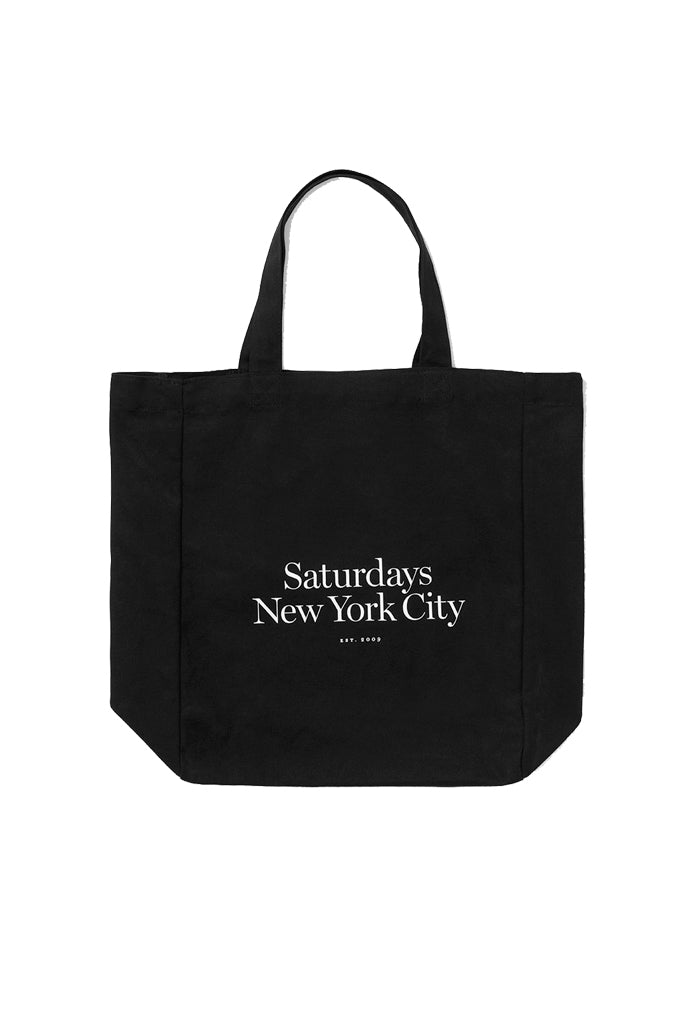 Established USA black tote