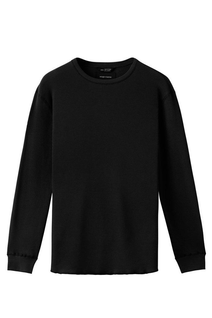 Black thermal long sleeve