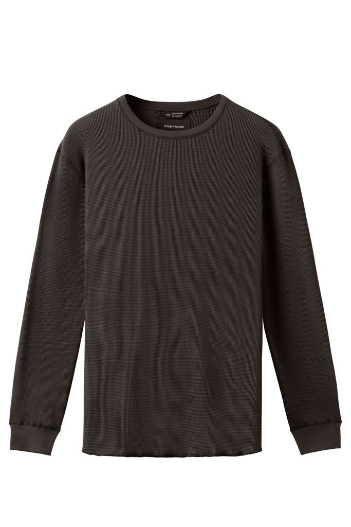 Dark grey thermal long sleeve