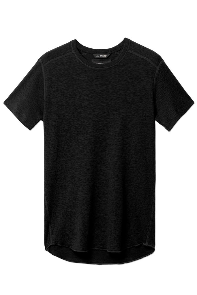 Black short sleeve crewneck