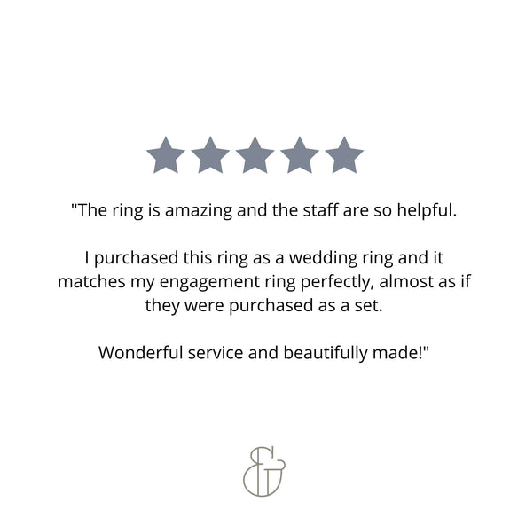diamond wedding ring review