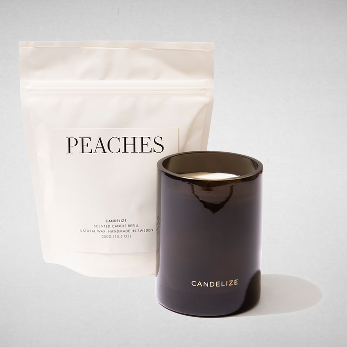 PEACHES Candle & Refill