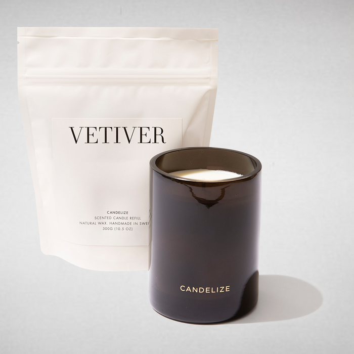 Vetiver Candle & Refill