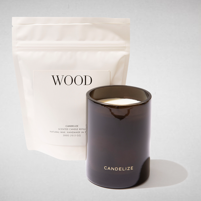 WOOD Candle & Refill