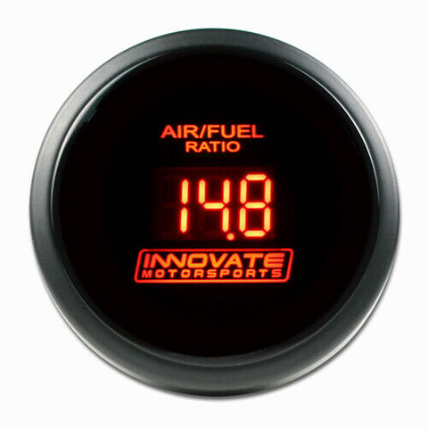 3796 INNOVATE MOTORSPORTS DB DIGITAL AIR FUEL RATIO AFR GAUGE RED WITH LC-2 KIT
