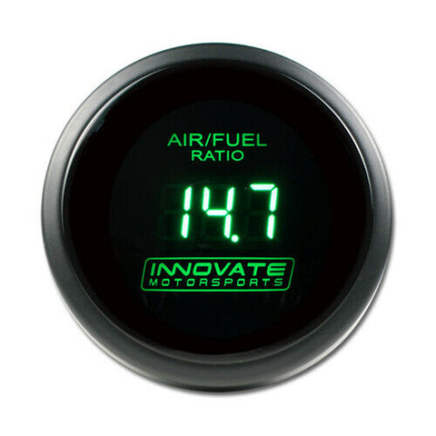 3873 Innovate DB-Green Gauge Wideband Air Fuel Ratio AFR Kit w/ Sensor/LC-2 Kit