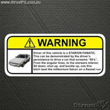 Visor Visor Warning Sticker Decal for Mitsubishi JDM Funny Humor