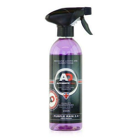 Autobrite Purple Rain 2.0 500ml Iron Fallout Remover - Wheel Rims Mags Dust