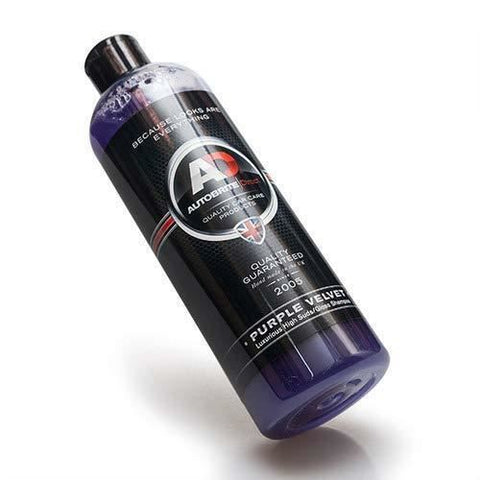 Purple Velvet 500ml Premium Luxurious High Gloss Car Shampoo Cleaner 4x4 Euro