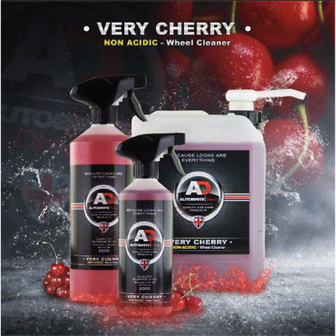Autobrite Very Cherry Non-Acid Wheel Cleaner 500ml Wheel Rims Shiny Clean Dust